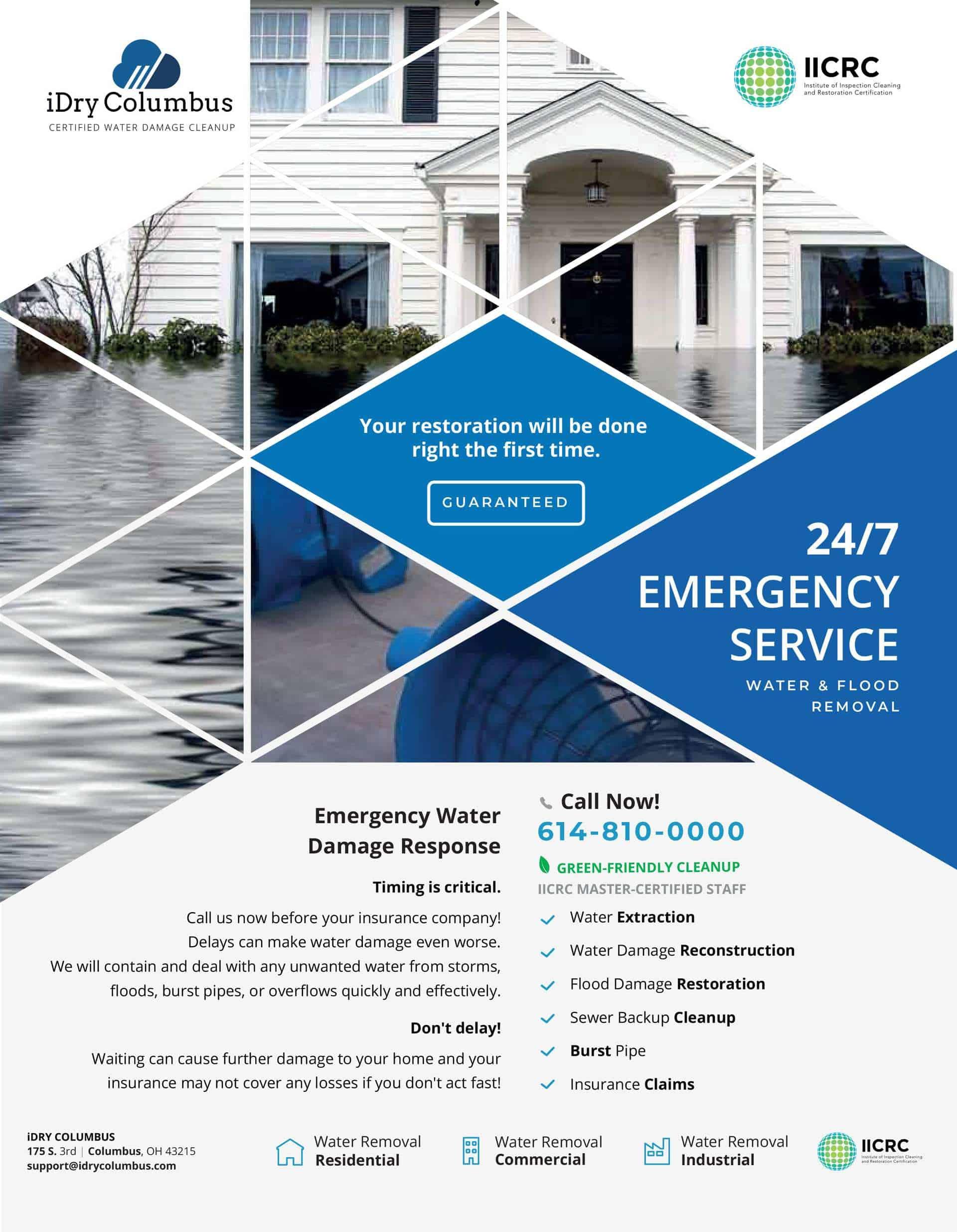 Upper Arlington Water Damage